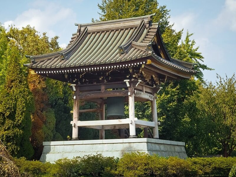 お寺の鐘撞堂「鐘楼」
