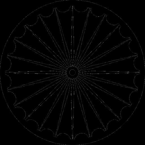 アショーカ王の法輪(ダルマ・チャクラ)
